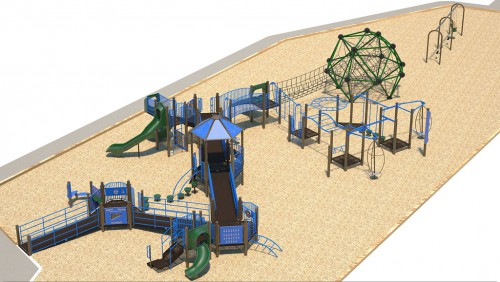Transfer Beach playground phase 2