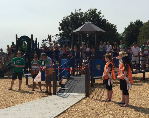 Transfer Beach playground opening