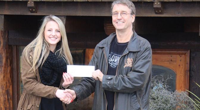 Yellowpoint Lodge Donates $1,000