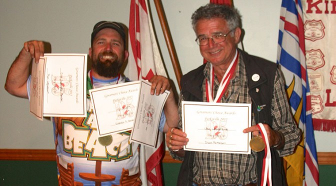 Ladysmith Kinsmen Wins Awards