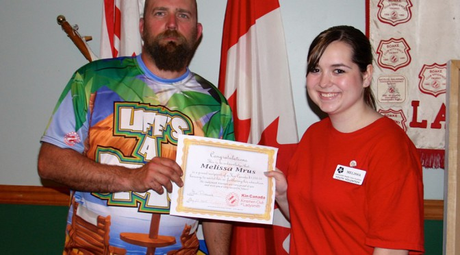 High School Student Receives $1,000 Bursary
