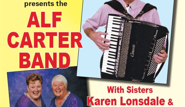 Alf Carter Band Poster