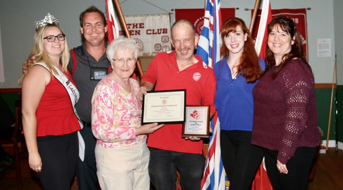 Kinsmen Larry Adair wins National Founders Award