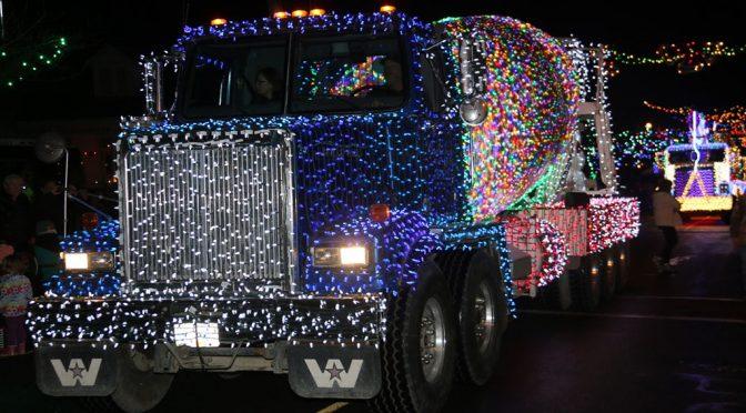 Festival of Lights Kinsmen Parade 2017