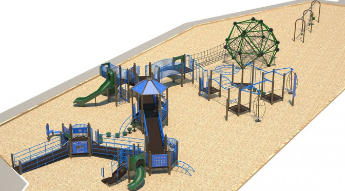 Transfer Beach Playground Update