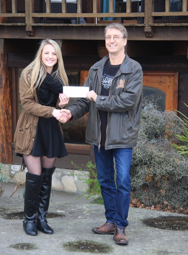 Yellowpoint Lodge donation