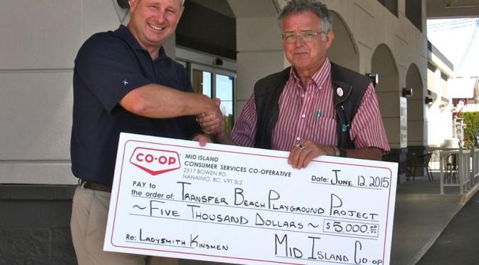 Mid-Island Co-Op Donates $5,000