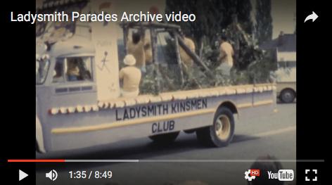 Kinsmen in Ladysmith Days Parade Archive