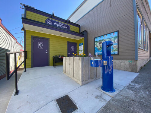 Downtown Washroom Project is Open